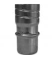 Raccord rigide mâle/flexible avec vissage DS Accessoires Ø 125mm