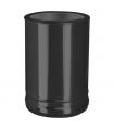 Connexion double à simple noire DW ECO Noir Ø 180mm